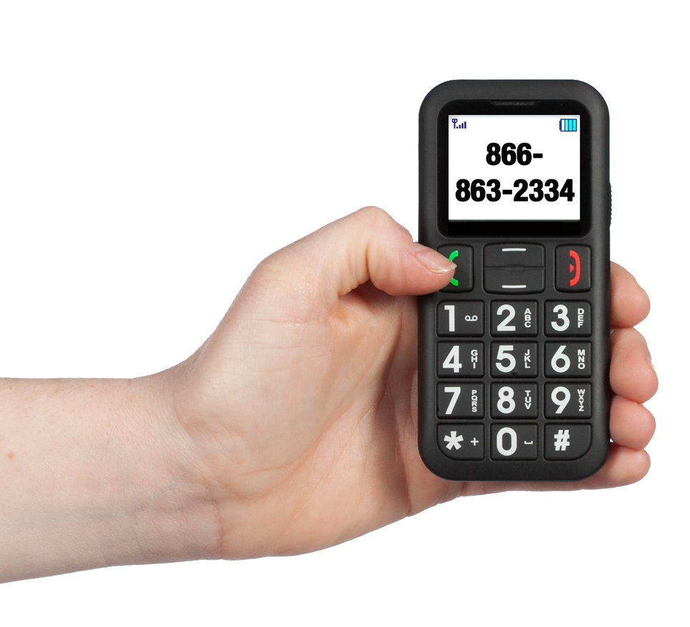 Phones For The Elderly: Easy To Use Large Button Cell Phones For The Elderly