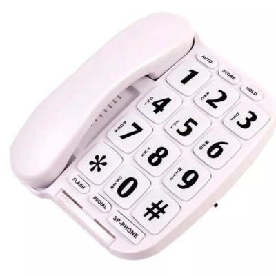 Big Button Corded Landline Phone